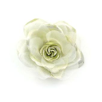 Brooches Store Metallic Organza Fabric Flower Corsage Brooch