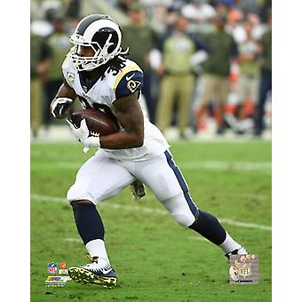 Todd Gurley 2017 Action Photo Print