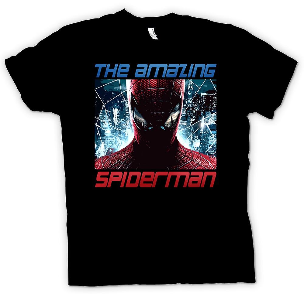 Mens t-shirt-The Amazing Spiderman