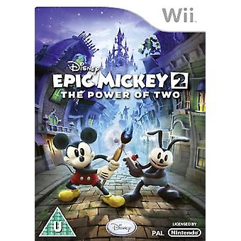 Disney Epic Mickey 2 - la puissance de deux (Wii)