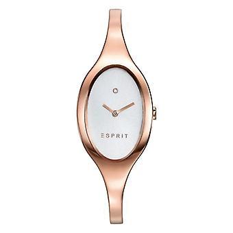 Esprit Damen Uhr Armbanduhr Spangenuhr Edelstahl Rosé ES906602002