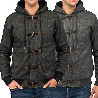 Men's Zip Cardigan hooded warm Teddy-Lining CENK Hoodie comfort