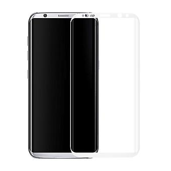 Premium of 0.3 mm bent tempered glass white film for Samsung Galaxy touch 8 N950 F