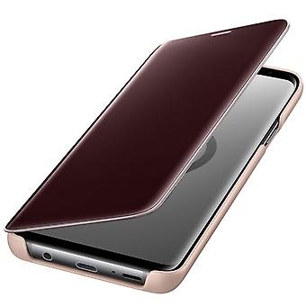 Samsung flip Pocket clear view standing cover EF ZG965CFEGWW for Galaxy S9 plus G965F gold