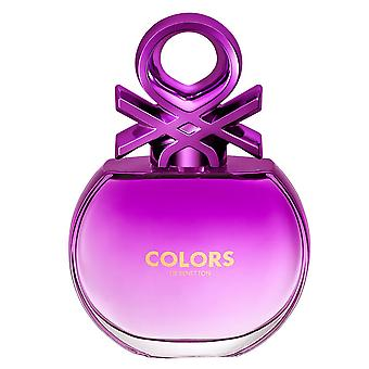 Benetton Colors For Her Purple Edt 80ml