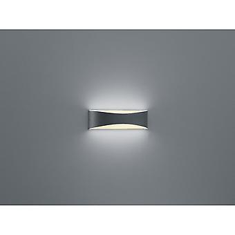 Trio Lighting Konda Modern Anthracite Diecast Aluminium Wall Lamp