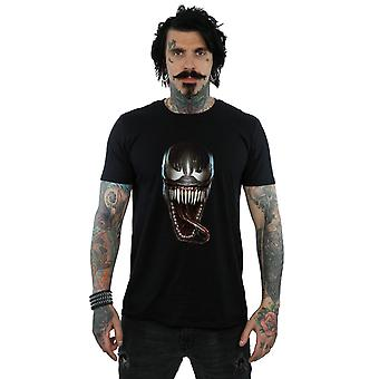 Marvel Men's Venom Photographic Face T-Shirt