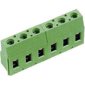 PTR AKZ710/3-7.62-V bornes 2,50 mm² número de pines 3 verde 1 PC