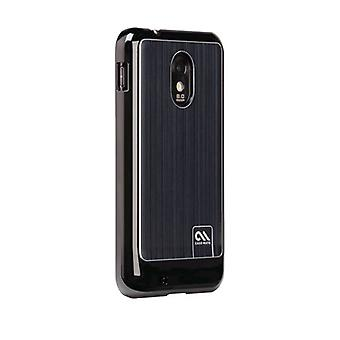 Case-Mate Barely There Brushed Aluminum Case for Samsung SPH-D710 - Black