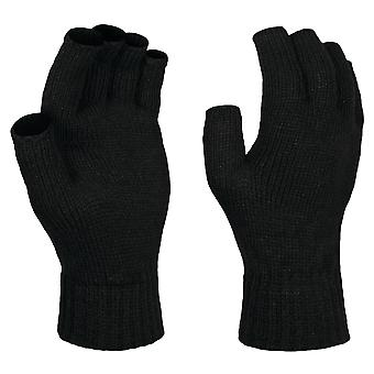 Regatta Thrm F/Less Mitts Black Sgl
