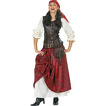 Luxury pirate ladies costume pirate bride seafarer Carnival