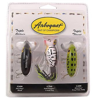 Arbogast Triple Threat 3/8 oz Fishing Lures