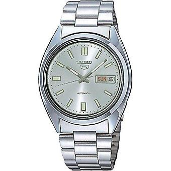 Seiko 5 Automatic Silver Dial Stainless Steel Men's Watch SNXS73K