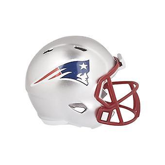 Riddell snelheid pocket voetbal helmen New England Patriots van de NFL