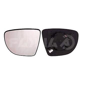 Linker spiegelglas (verwarmd) & houder voor RENAULT ZOE 2012-2018