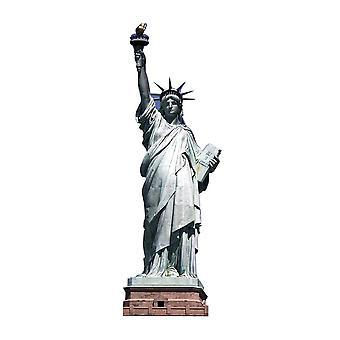 Estados Unidos americanos 'estatua de la libertad' cartón recortable