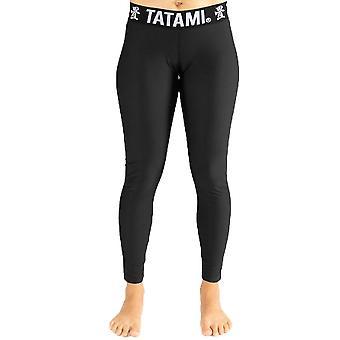 Tatami Fightwear Ladies Black Minimal Spats