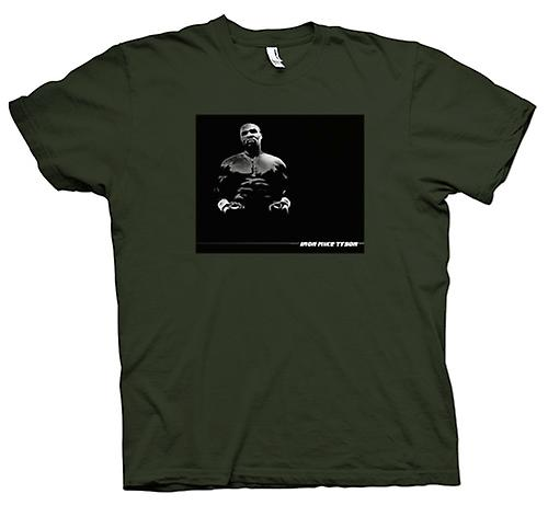 Mens T-shirt - Strijkijzer - Mike Tyson - Pop Art