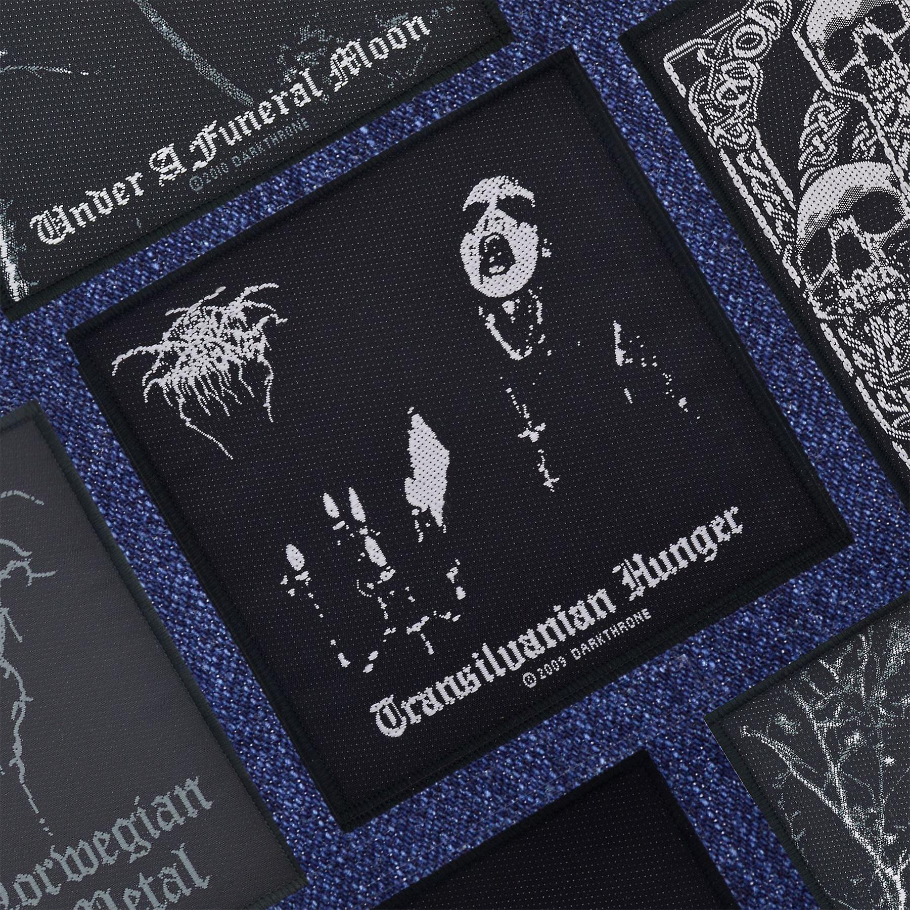Darkthrone Transilvanian Hunger Woven Patch