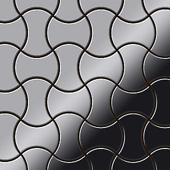Metal mosaic Stainless Steel ALLOY Infinit-S-S-MM