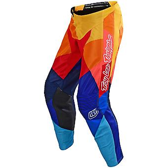 Troy Lee Designs Navy-Orange 2019 GP Air Jet Kids MX Pant