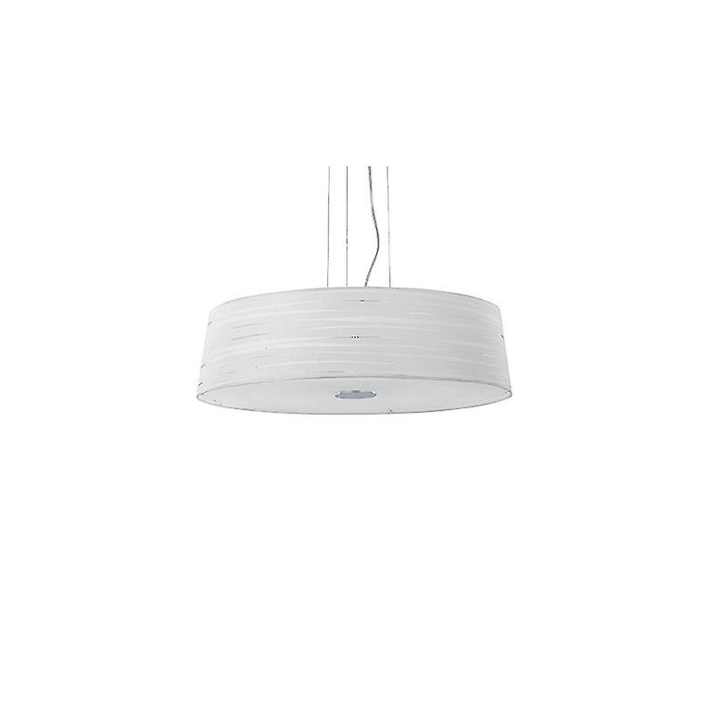 6 Light  Large Ceiling Pendant blanc