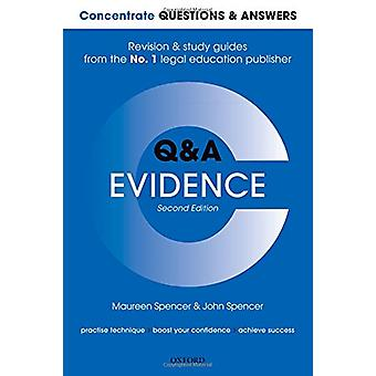 Concentrate Questions and Answers Evidence - Law Q&A Revision and