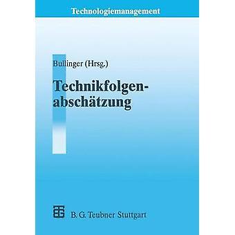 Technikfolgenabschtzung TA by Bullinger & HansJrg