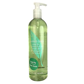 Green tea by elizabeth arden 16.8 oz bath and shower gel