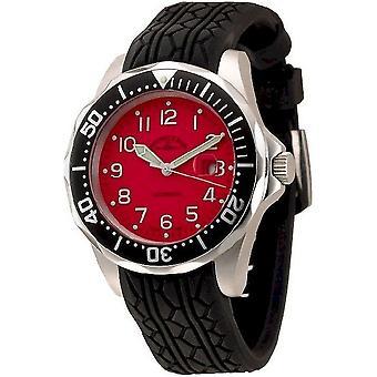 Zeno-watch mens watch diver look II automatic 3862-a7