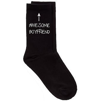 Calcetines de becerro negro novio impresionante