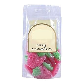 5 Bags of 170g Bags of Fizzy Strawberry Sweets