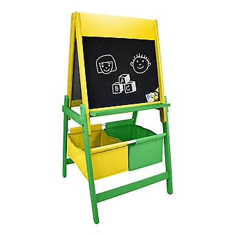 Crayola Double Sided Childrens Wooden Art Easel with Creative Accessories Set