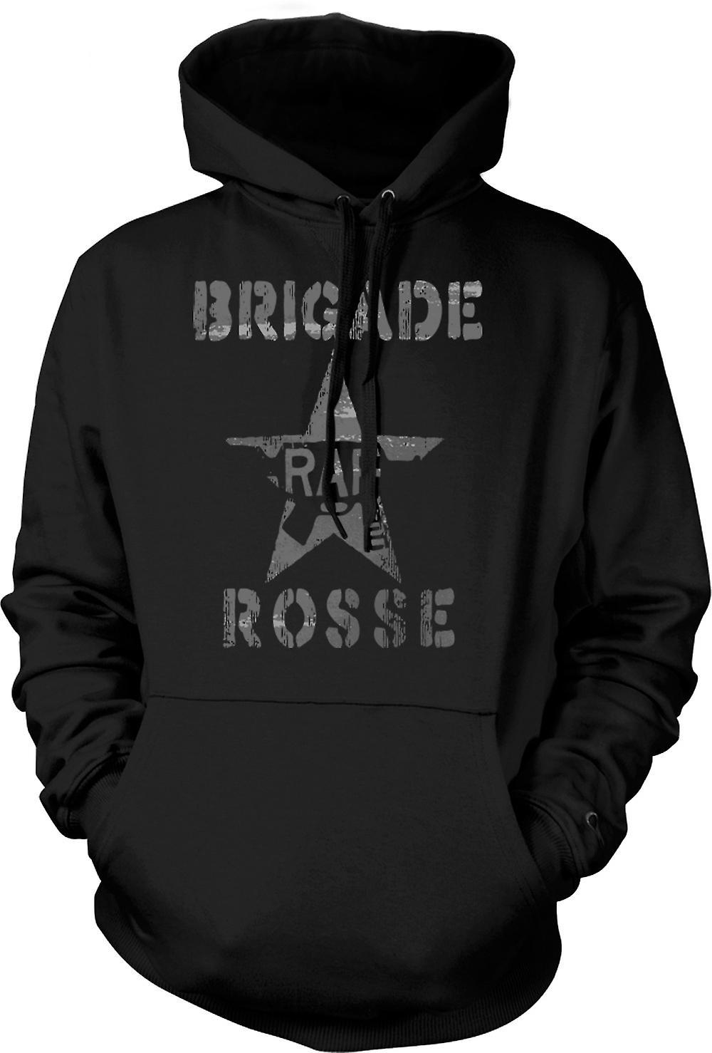 Para hombre con capucha - brigada Rosse - marxista
