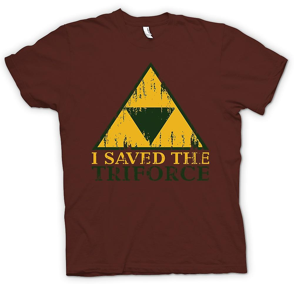 Mens t-shirt - ho salvato la TriForce - Legend Of Zelda ispirato
