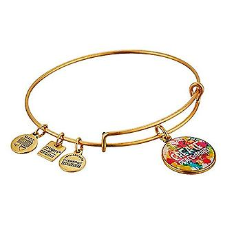 Alex and Ani Peace Of Mind Charm Bangle - Rafaelian Gold - CBD14POMRG