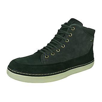 Geox U Mattias B Abx B Mens Suede Waterproof Boots / Shoes - Grey