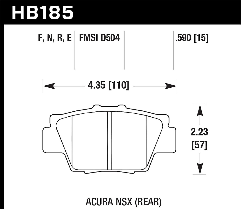 Hawk Performance HB185F.590 HPS