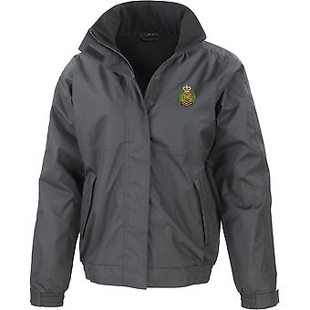 Royal Engineers-licenciado British Army jaqueta impermeável bordado com velo interior
