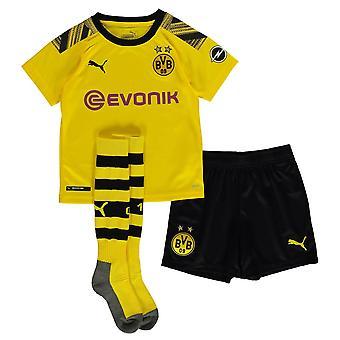 Puma Bambini Borussia Dortmund Home Mini Kit 2019 2020
