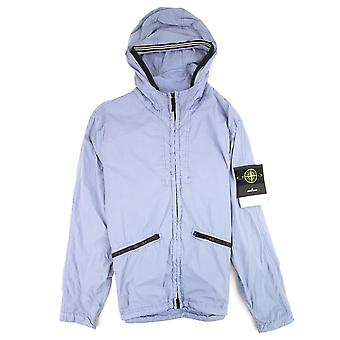 Stone Island 41030 Garment Dyed Crinkle Reps Ny Jacket Purple V0047