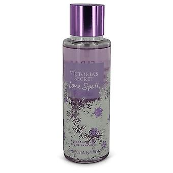Victoria's Secret Love Spell Frosted by Victoria's Secret Fragrance Mist Spray 8.4 oz / 248 ml (Women)