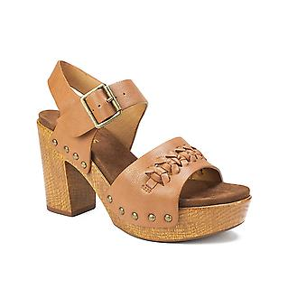 White Mountain Womens ALTHEDA Fabric Open Toe Formal Slingback Sandals