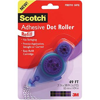 Scotch Adhesive Dot Roller Refill .31