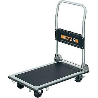 Flatbed trolley foldable, + compartment Steel Load capacity (max.): 150 kg Meister Werkzeuge 8985530