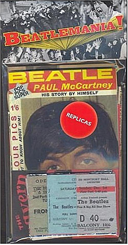 Beatles Beatlemania nostalgic memorabilia pack  (mp)