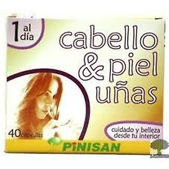 Pinisan Hair Skin And Nails 40Cap. (Dietetics And Nutrition , Supplements , Body , Hair)
