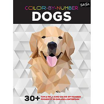 Walter Foster Creative Books-Color By Number - Dogs WFC-22014