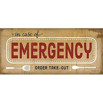 In Case of Emergency Poster Print by Jennifer Pugh