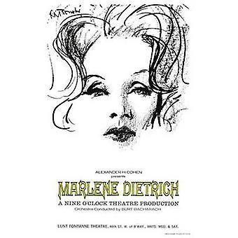 マレーネ ・ ディートリッヒの映画のポスター (11 x 17)